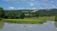 WISSMANNSDORF  - Duitsland - hole 3.   Golf-Resort Bitburger Land. COPYRIGHT KOEN SUYK