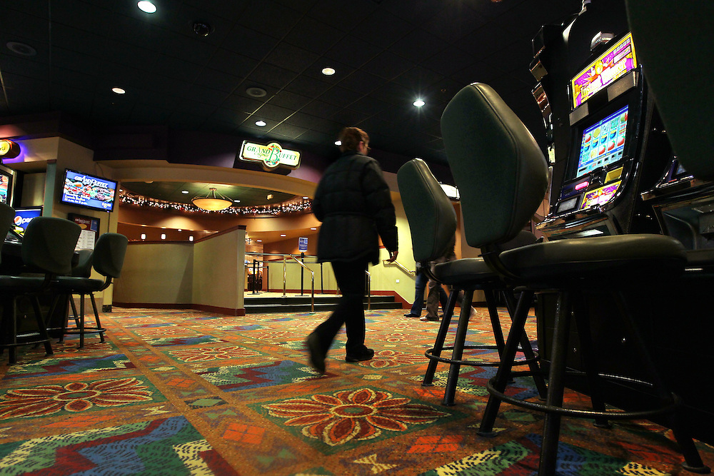 The entrance to the Grand Buffet at Grand Casino Hinckley December 20, 2011.