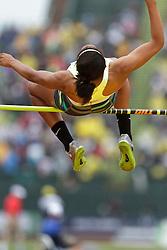 2012 USA Track & Field Olympic Trials: Gaby Williams, high school, women's high jump