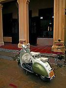 Vietnam, Hoi An:italian Vespa.