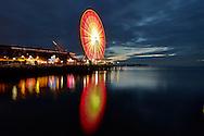 Great Wheel of Seattle Ferris wheel ride on the waterfront on Monday, Dec. 30, 2013. (Photo/John Froschauer)
