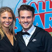 NLD/Rotterdam/20181014 - Iinloop premiere All Stars, Levi van Kempen en ....