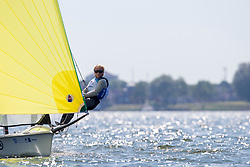The Allianz Regatta is the first event of the 2021 Hempel World Cup Series. Hosted in Medemblik, The Netherlands, 350 sailors will race across eight Olympic classes across two weeks of competition. 9 June, 2021 © Sander van der Borch / Allianz Regatta