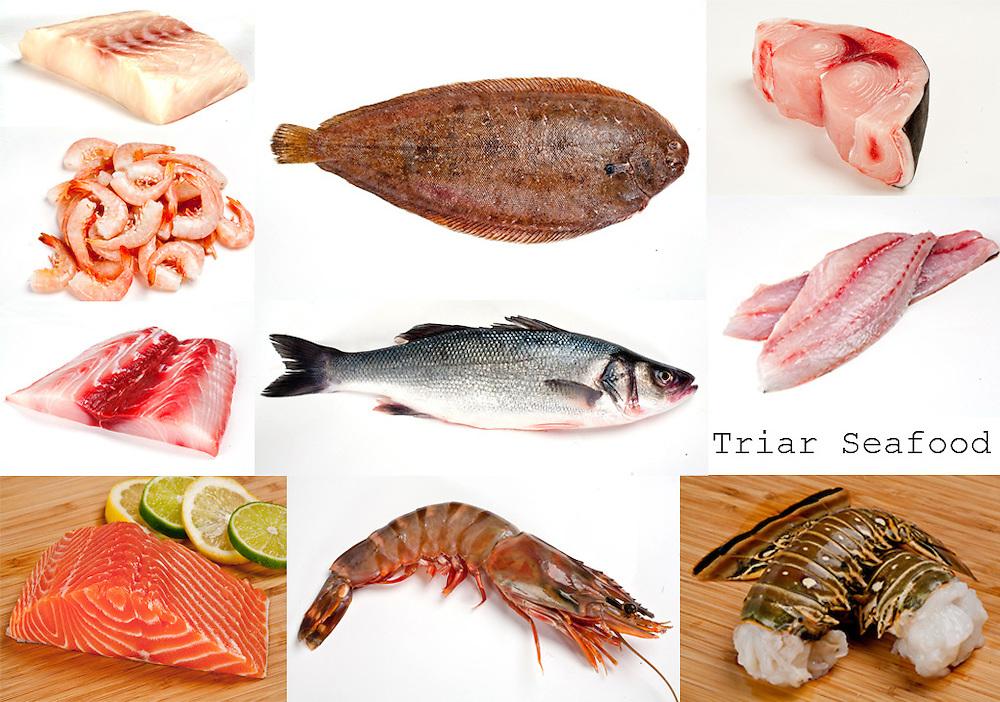 seafood,shellfish,raw fish,lobster tails