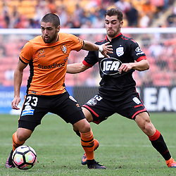 11th December 2016 - A-League RD10: Brisbane Roar v Adelaide United