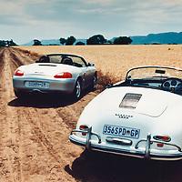 Porsche Boxster (1997) and Porsche 356 A Speedster (1958), Magaliesburg, South Africa, 1997