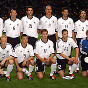 Germany's team that started with an eight - nil victory