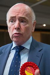 © Licensed to London News Pictures. 09/06/2017. Birmingham, UK. JACK DROMEY retains his Erdington seat in Birmingham for Labour. Photo credit: Dave Warren/LNP