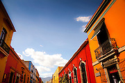 Colourful Buildings on Alcala