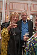 LADY WEST; RICHARD INGRAMS, The Oldie - 20th anniversary party. Simpson's-in-the-Strand, 100 Strand, London, WC2. 19 July 2012