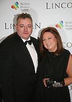Richard Corrigan and Norah Casey at the Lincoln film premiere Savoy Cinema in Dublin, Ireland. Sunday 20th January 2013.