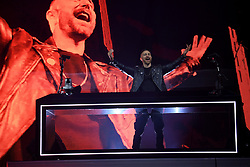 David Guetta on stage during day one of Capital's Jingle Bell Ball 2018 with Coca-Cola at the O2 Arena, London. Picture Credit Should Read: Doug Peters/EMPICS Entertainment
