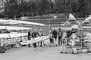Nottingham. United Kingdom. <br /> <br /> General View, GV, Boating area at the GB Masters Championships, National Water Centre, Holme Pierrepont<br /> <br /> Saturday   10/06/2017<br /> <br /> <br /> [Mandatory Credit Peter SPURRIER/Intersport Images]