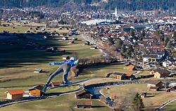 31.12.2016, Olympiaschanze, Garmisch Partenkirchen, GER, FIS Weltcup Ski Sprung, Vierschanzentournee, Garmisch Partenkirchen, Training, im Bild Daniel Andre Tande (NOR) // Daniel Andre Tande of Norway during his Practice Jump for the Four Hills Tournament of FIS Ski Jumping World Cup at the Olympiaschanze in Garmisch Partenkirchen, Germany on 2016/12/31. EXPA Pictures © 2016, PhotoCredit: EXPA/ Jakob Gruber