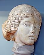 Head of Lapith woman.