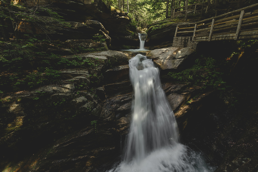 Summertime waterfall trip in New Hampshire and Vermont.