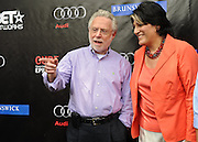 Wolf Blitzer and Tammy Haddad at the 2010 White House Correspondents Garden Brunch. (Photo by Kyle Gustafson)