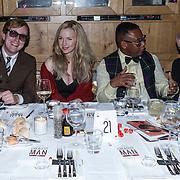 NLD/Amsterdam/20131101 - JFK Gala 2013, the Greatest Man 2013, Ancilia Tillia, Howard Komproe en partner