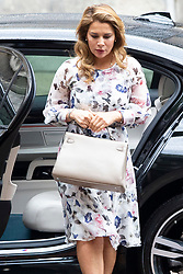 © Licensed to London News Pictures. 31/07/2019. London, UK. Princess Haya Bint Al Hussein returns to the High Court in London where she is currently in dispute with her husband, Sheik Mohammed bin Rashid Al Maktoum, following the breakdown of their marriage.  Photo credit: George Cracknell Wright/LNP