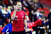 Håndball , 6. november 2013 , Gildeserien kvinner , eliteserien ,<br /> Larvik - Byåsen 37-26<br /> <br /> trener Claus Mogensen , Byåsen