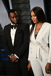 Naomi Campbell. Sean ' Sean Combs ' Combs at the 2018 Vanity Fair Oscar Party hosted by Radhika Jones held at the Wallis Annenberg Center for the Performing Arts on March 4, 2018, Los Angeles, Beverly Hills, CA, USA. Photo by DN Photography/ABACAPRESS.COM