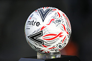 match ball during the The FA Cup fourth round match between Shrewsbury Town and Wolverhampton Wanderers at Greenhous Meadow, Shrewsbury, England on 26 January 2019.