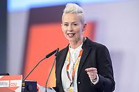 22 NOV 2019, LEIPZIG/GERMANY:<br /> Silvia Breher, MdB, CDU, haelt Ihre Bewerbundrede zur Stellv. Parteivorsitzenden, CDU Bundesparteitag, CCL Leipzig<br /> IMAGE: 20191122-01-273<br /> KEYWORDS: Parteitag, party congress