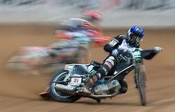 May 12, 2018 - Warsaw, Poland - Niels-Kristian Iversen (DEN), Tai Woffinden (GBR) during 1st round of Speedway World Championships Grand Prix Poland in Warsaw, Poland, on 12 May 2018. (Credit Image: © Foto Olimpik/NurPhoto via ZUMA Press)