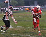 The Elyria Pioneers improved to 2-0 with a win over visiting North Olmsted on September 2, 2011 at Ely Stadium.