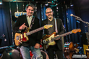Mark Spencer and Jay Sherman-Godfrey at WFMU's Monty Hall, Jersey City, NJ 1/16/16