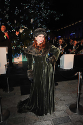 PALOMA FAITH at Skate presented by Tiffany & Co at Somerset House, London on 22nd November 2010.