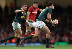 South Africa's Francois Venter during the Autumn International at the Principality Stadium, Cardiff