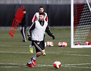 Oliver Norwood of Sheffield Utd during a training session at the Steelphalt Academy, Sheffield. Picture date: 5th March 2020. Picture credit should read: Simon Bellis/Sportimage