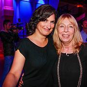 NLD/Hilversum/20130820- Najaarspresentatie RTL 2013, Carly Wijs en regisseur Will Koppman