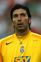 Milano 27/7/2004 Trofeo Tim - Tim tournament <br /> <br /> <br /> <br /> Gianluigi Buffon (Juventus)<br /> <br /> <br /> <br /> Inter Milan Juventus <br /> <br /> Inter - Juventus 1-0<br /> <br /> Milan - Juventus 2-0<br /> <br /> Inter - Milan 5-4 d.cr - penalt.<br /> <br /> <br /> <br /> Photo Andrea Staccioli Graffiti