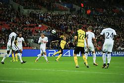 13 September 2017 -  UEFA Champions League (Group H) - Tottenham Hotspur v Borussia Dortmund - Andriy Yarmolenko of Borussia Dortmund scores their 1st goal - Photo: Marc Atkins/Offside