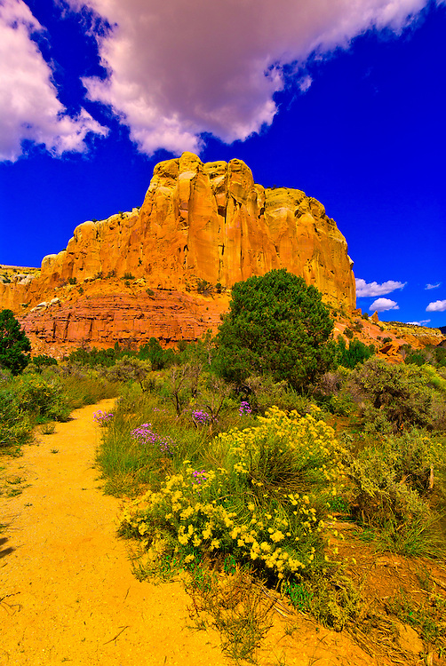 Views along the Box Canyon Trail, Ghost Ranch, Abiquiu, New Mexico