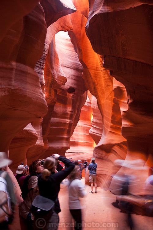 Upper Antelope Canyon, Slot Canyon, Page, AZ