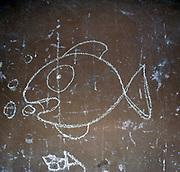 Graffiti on a wall in Venice, Italy