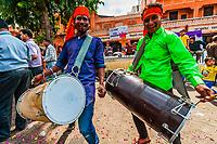 A local Hindu festval, Jaipur, Rajasthan, India.