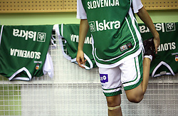 Basketball qualification match of women division B  between National teams of Slovenia and Netherlands, on August 27, 2008, in Vitranc Hall, Kranjska Gora. Win of NED 83:81. (Photo by Vid Ponikvar / Sportida)