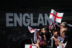 A general view outside of Banks's Stadium before England Women v Denmark Women International Friendly