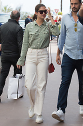 Sara Sampaio on croisette during 72nd Cannes film festival on May 22, 2019 in Cannes, France. Photo by Nasser Berzane/ABACAPRESS.COM