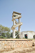 Forest fire observation tower, Israel, Negev near Beer Sheva