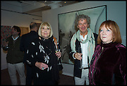 , DIANA RIGG; CARY GOOD; RED BONDSotheby's Frieze week party. New Bond St. London. 15 October 2014.