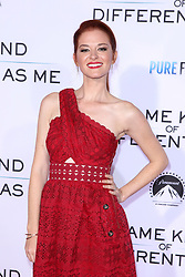 "Sarah Drew at the Paramount Pictures And Pure Flix Entertainment's ""Same Kind Of Different As Me"" Premiere held at the Westwood Village Theatre on October 12, 2017 in Westwood, California, USA (Photo by Art Garcia/Sipa USA)"