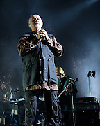 FAIRFAX, VA - October 14th, 2012 - Peter Gabriel performs at the Patriot Center in Fairfax, VA as part of his Back To Front Tour, celebrating the 25th anniversary of his landmark album, So. (Photo by Kyle Gustafson/For The Washington Post)