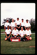 1998 Miami Hurricanes Women's Golf - Caneshooter Archive Scans 2020