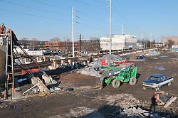 Construction Progress Railroad Station Fairfield Metro Center - Site visit 6 of once per month Chronological Documentation.