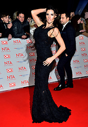Katie Price attending the National Television Awards 2018 held at the O2 Arena, London. PRESS ASSOCIATION Photo. Picture date: Tuesday January 23, 2018. See PA story SHOWBIZ NTAs. Photo credit should read: Matt Crossick/PA Wire